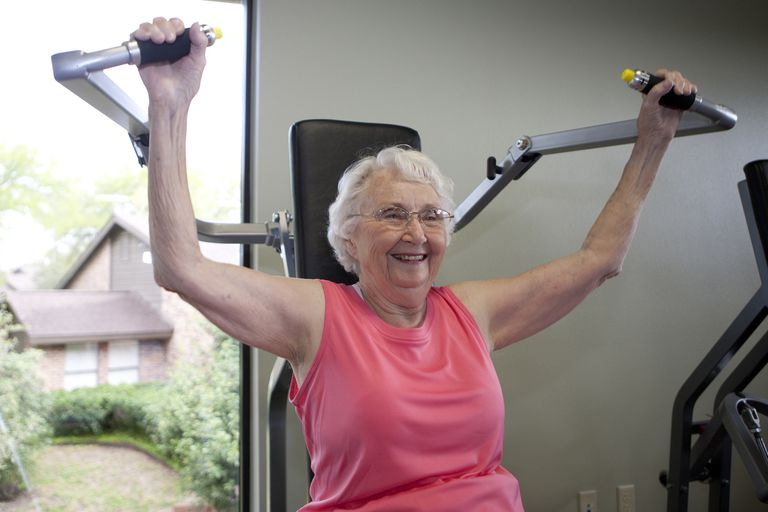 Exercise can help lower your biological age.