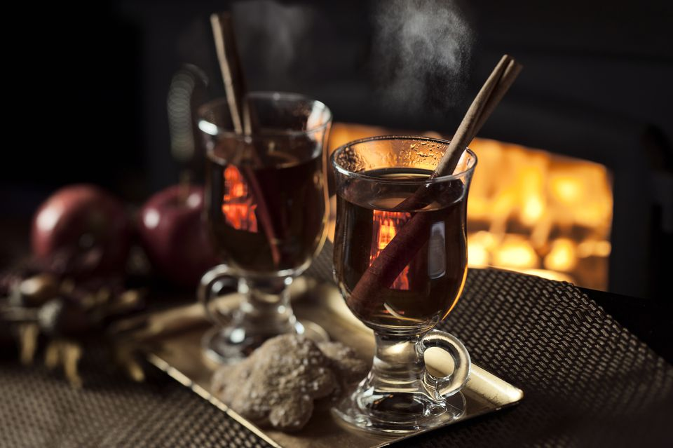 Hot Cider by the Fire