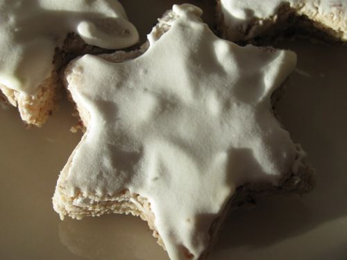 Zimtsterne - German Christmas Cookies