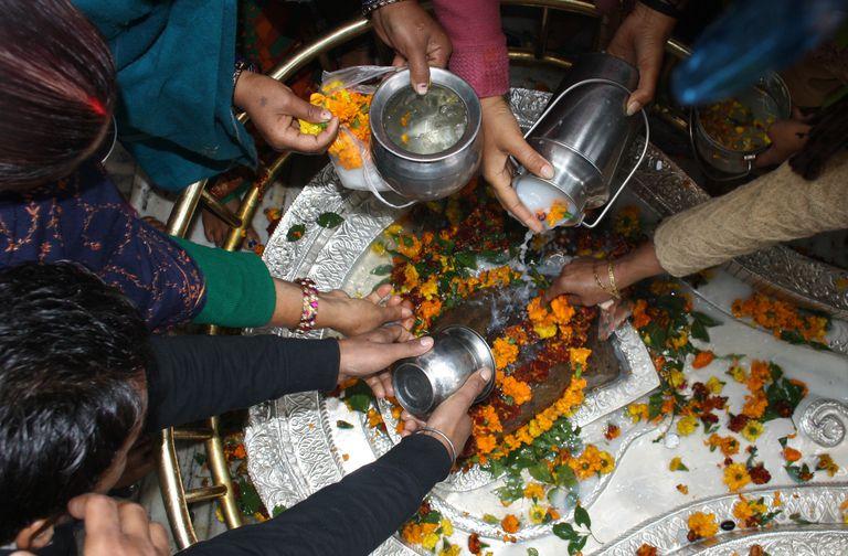 Hindus Celebrate Mahashivratri In India