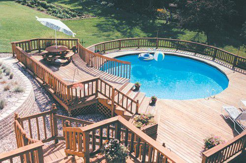A guide to owning an above ground pool for Doughboy above ground swimming pools