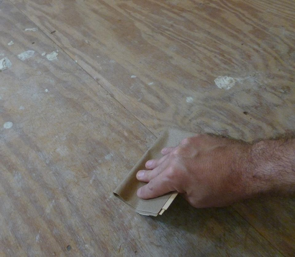 Installing slate tile step by step preparing the subfloor dailygadgetfo Image collections