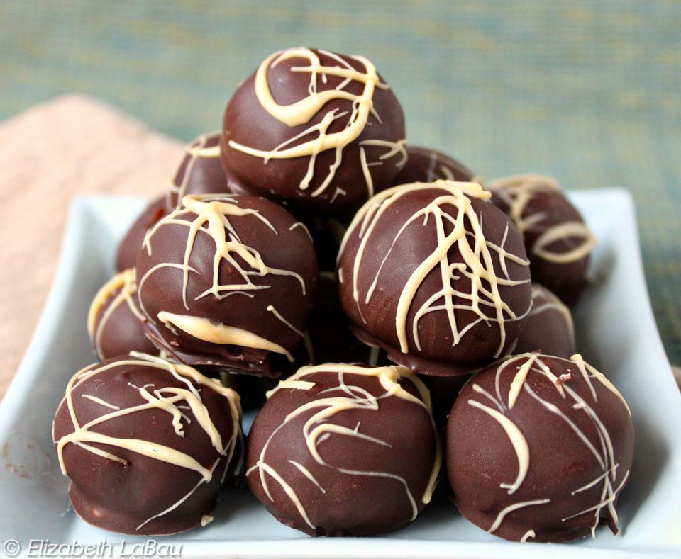 Cream Cheese Honey Truffles