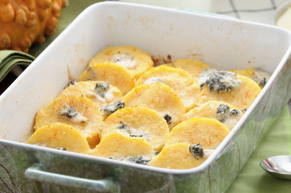 Pumpkin Gnocchi alla Romana with Gorgonzola