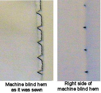 Machine Blind Hem