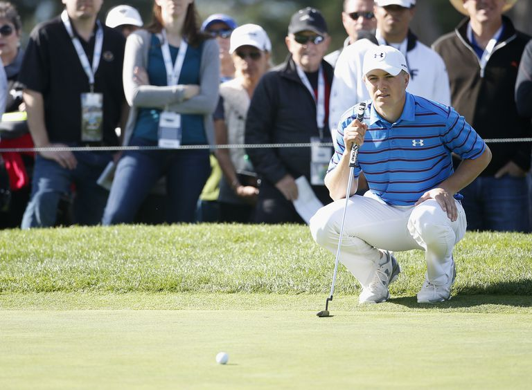 It's another green in regulation (GIR) for Jordan Spieth