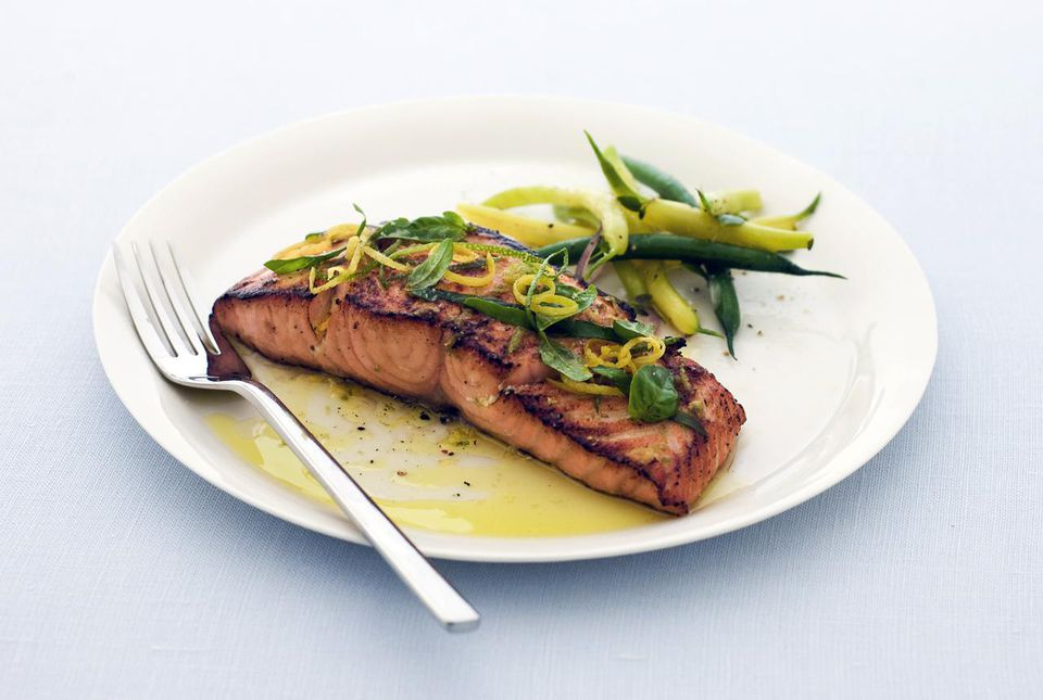 Eat fish at least twice a week to reduce saturated fat