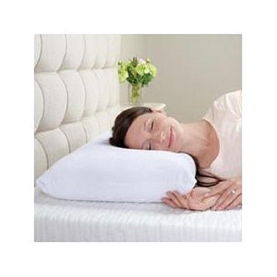 Memory foam pillow.