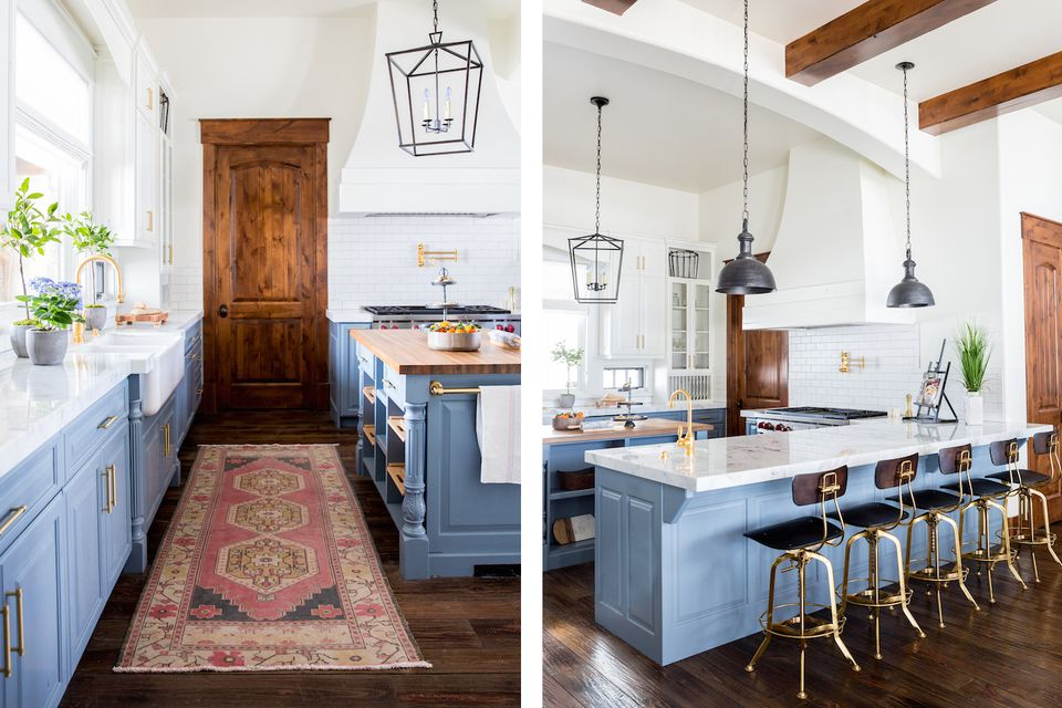 Herber house modern farmhouse kitchen