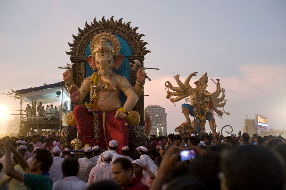 Lord ganesh immersion