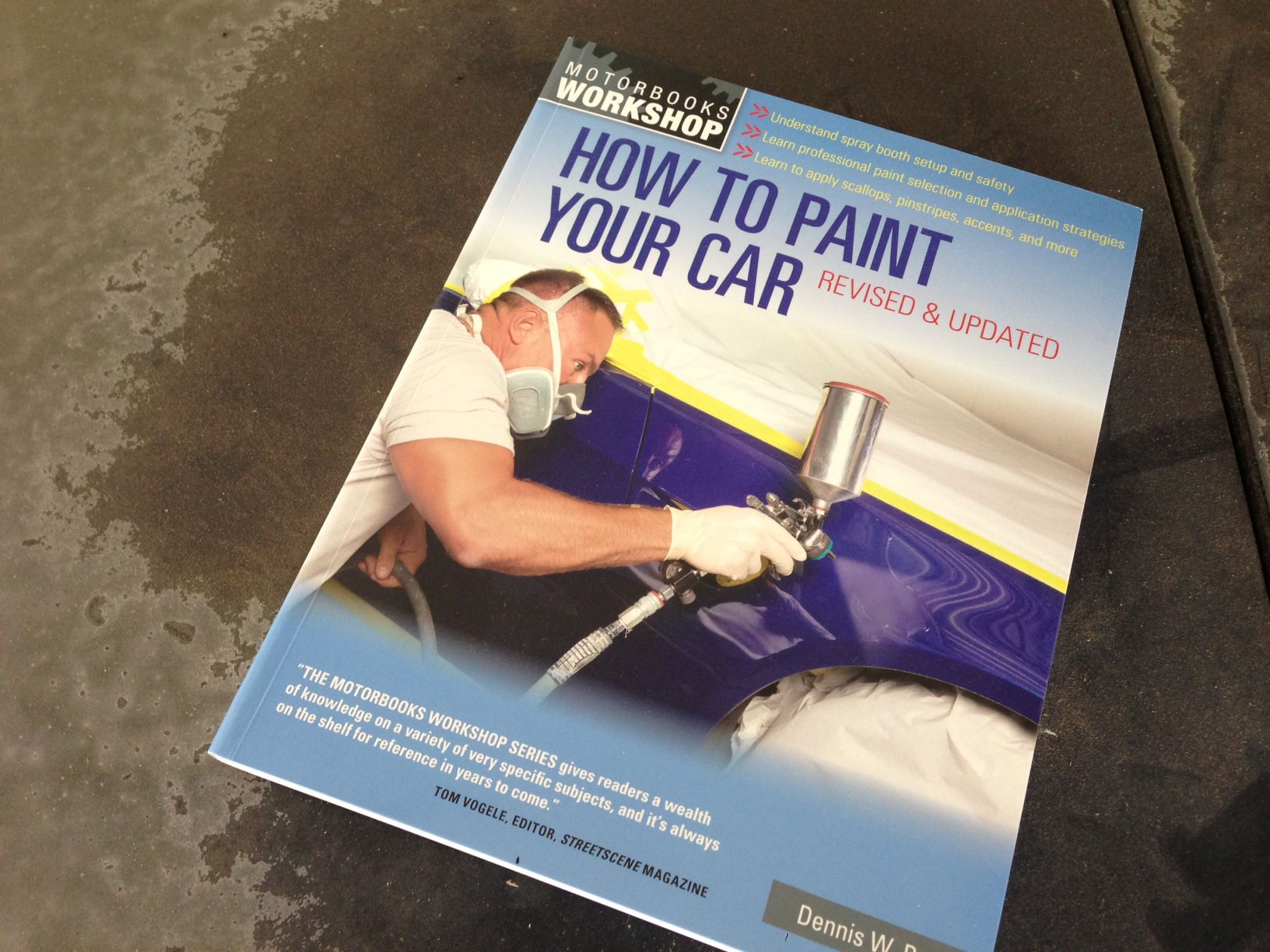how to paint your car instructional book. Black Bedroom Furniture Sets. Home Design Ideas