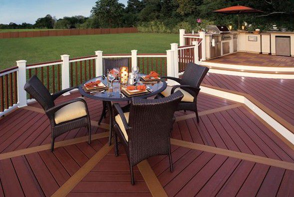 So you want to build a deck for Composite decking brands