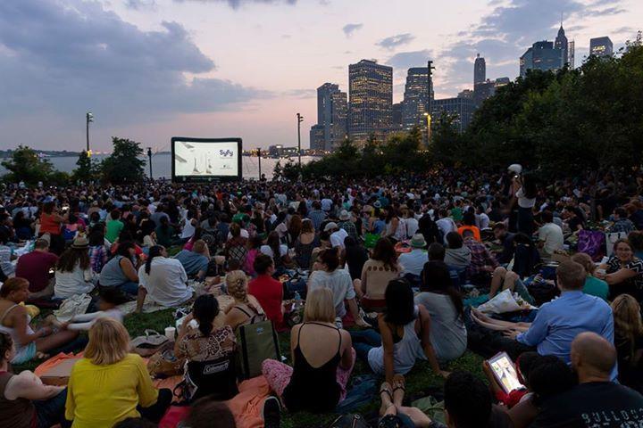 Syfy Movies With a View at Brooklyn Bridge Park