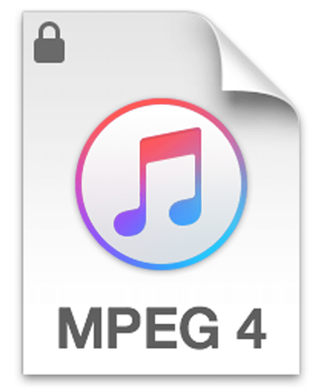 Picture of the M4B file icon used with iTunes