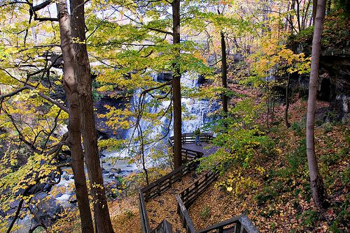 Cuyahoga Valley National Park is definitely a must-see in the autumn months.