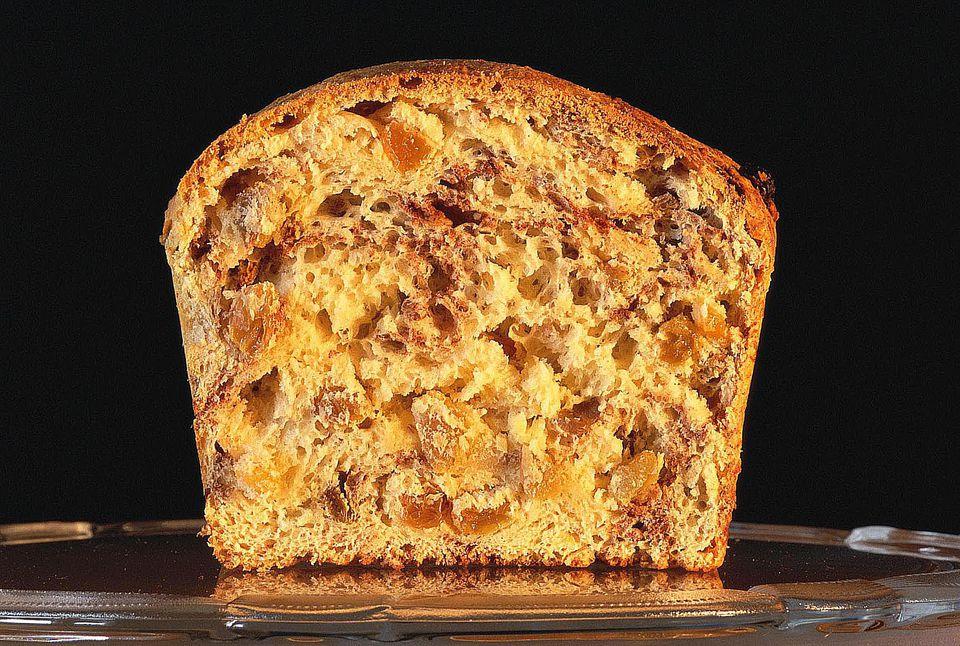 Loaf of cinnamon raisin bread