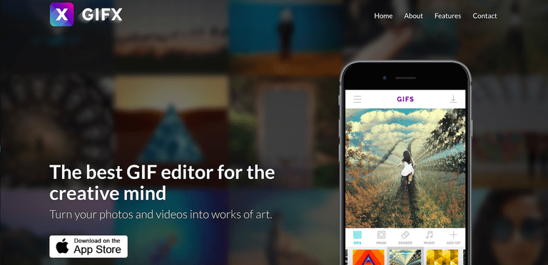 5 free gif maker apps for iphone and android gifx negle Gallery