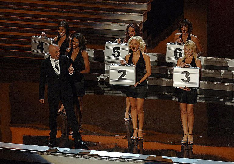 Howie Mandel and Deal or No Deal Models