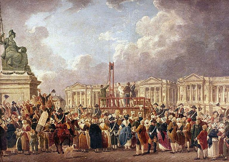 French Revolution - after a painting by Pierre Antoine De Machy