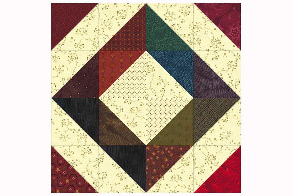 Easy Scrap Quilt Block Pattern
