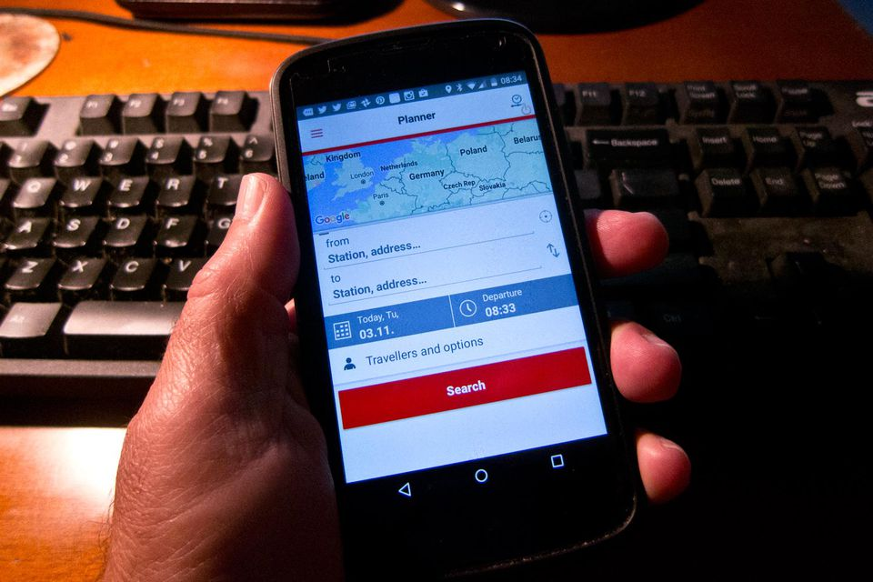 Buy Your Train Tickets with a Smartphone App