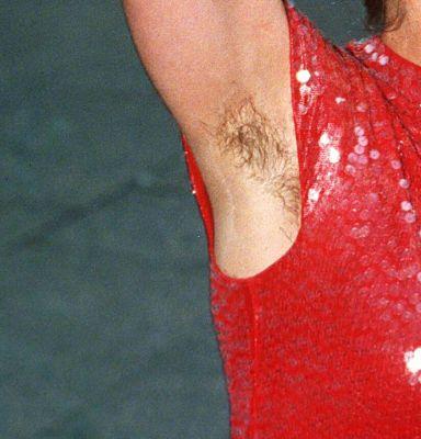 celebrity slips, hairy celebrities