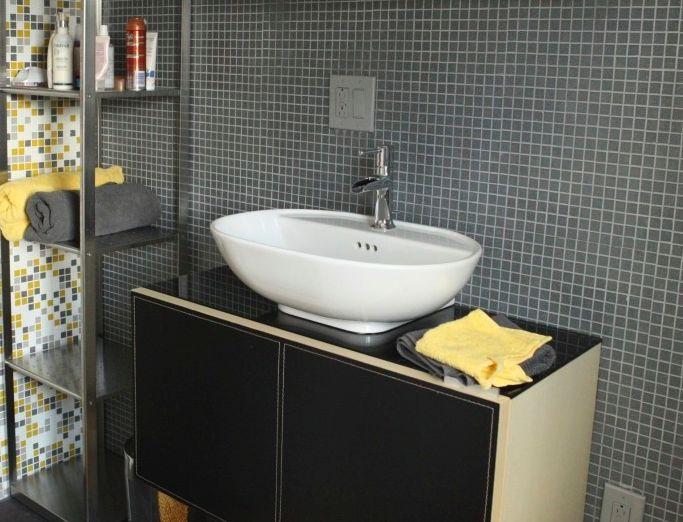 bathroom mosaic tile behind sink - Bathroom Ideas Mosaic