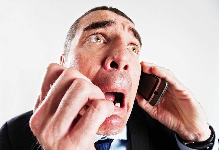 Scary Phone Call