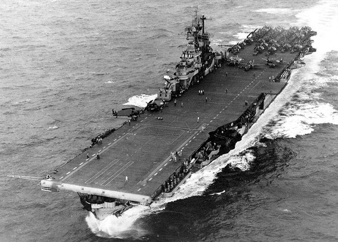World War II: USS Intrepid (CV-11)