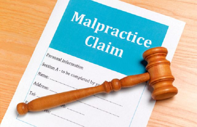 Malpractice medical claim form