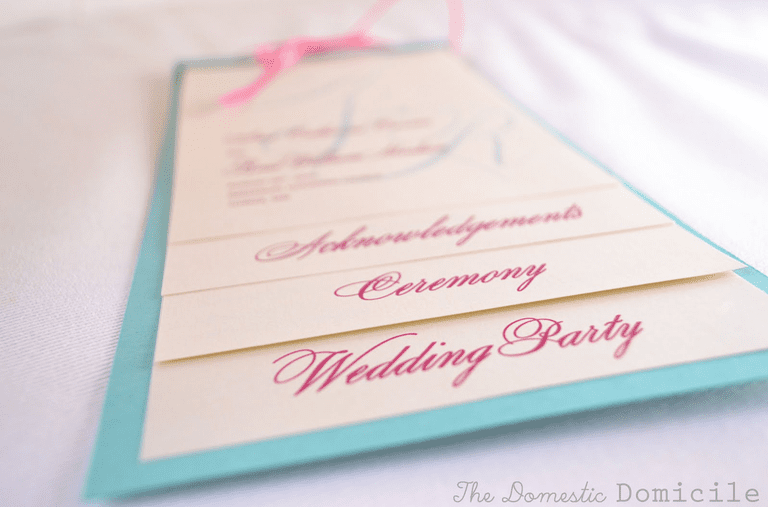 Free, Printable Wedding Program Templates You'll Love