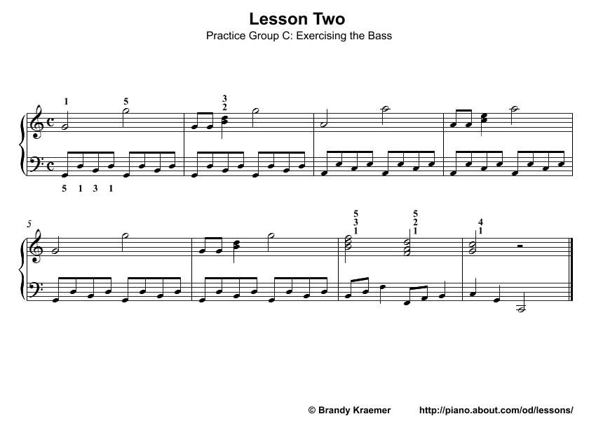Beginner Piano Lesson Book