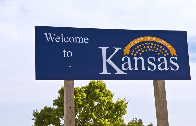 Welcome to Kansas, Kansas, USA