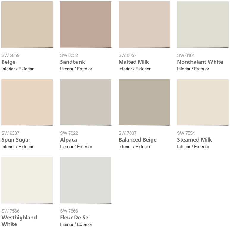 My Most-Pinned Color Palettes