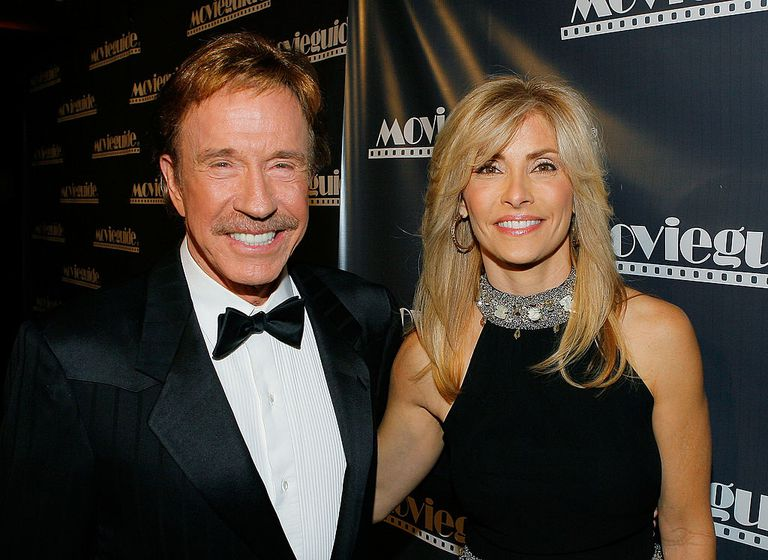 Actor Chuck Norris and wife Gena O'Kelley