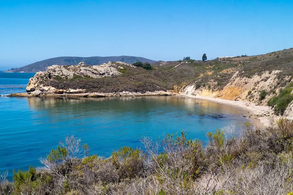 Pirate's Cove from the Avila Ridge Trail