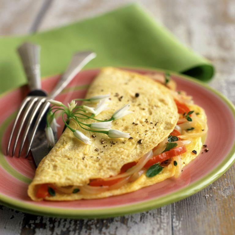 Vegetable omlette