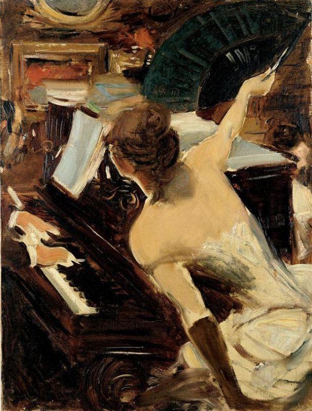 Boldini, The Mondona Singer