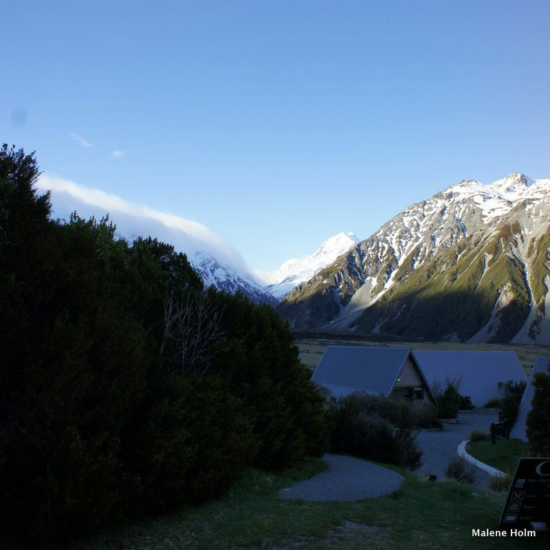 Mt Cook from Hermitage Hotel, Mt Cook