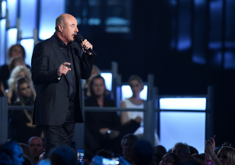 Dr. Phil on stage