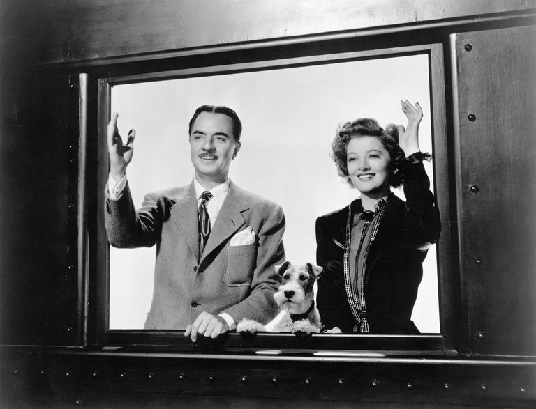 Scene from The Thin Man Goes Home