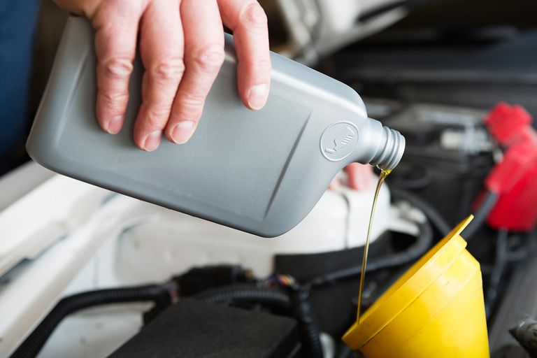 Mixing regular and synthetic motor oil won't hurt your car, but you'll lose the benefits of the synthetic oil.