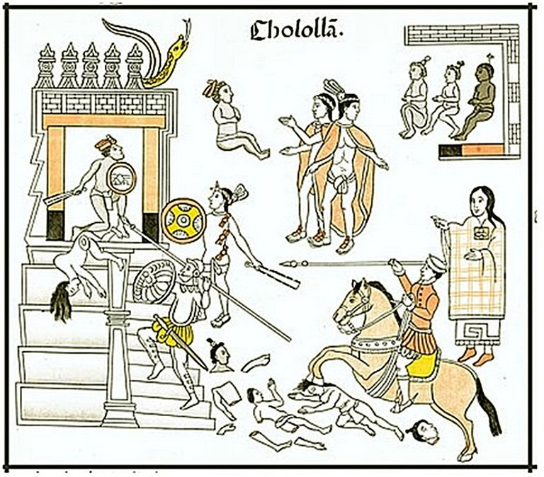 The Cholula Massacre