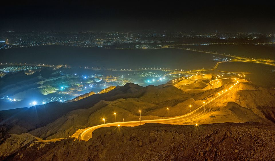 Jebel Hafeet provides a free and commanding view of Dubai.