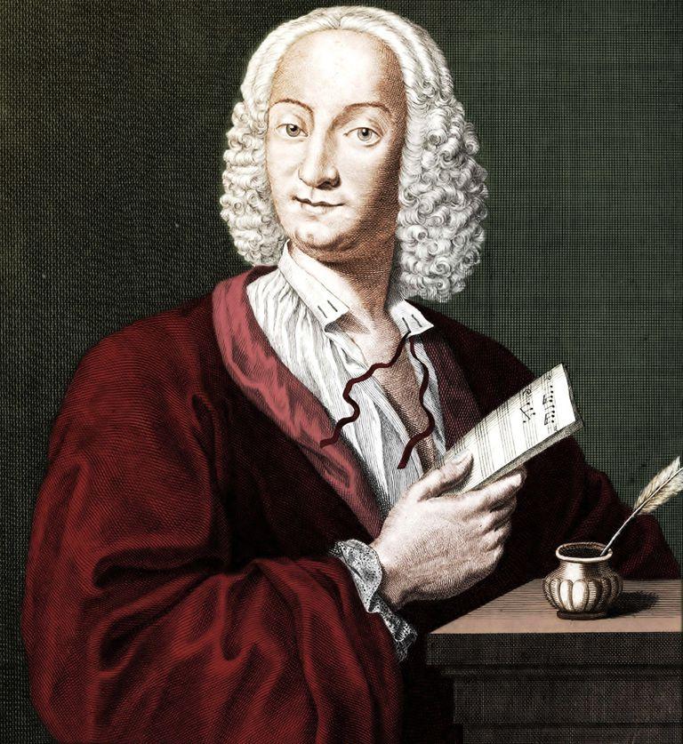 Antonio Vivaldi (1678-1741), 1725. Artist: Morellon de la Cave, François (ca 1700-1755)