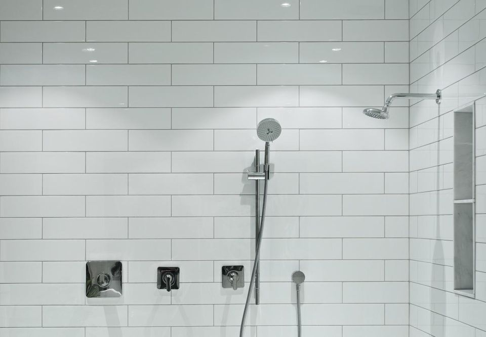 to rooms installed a tos shower prefab door install diy stall and how spaces on bathroom