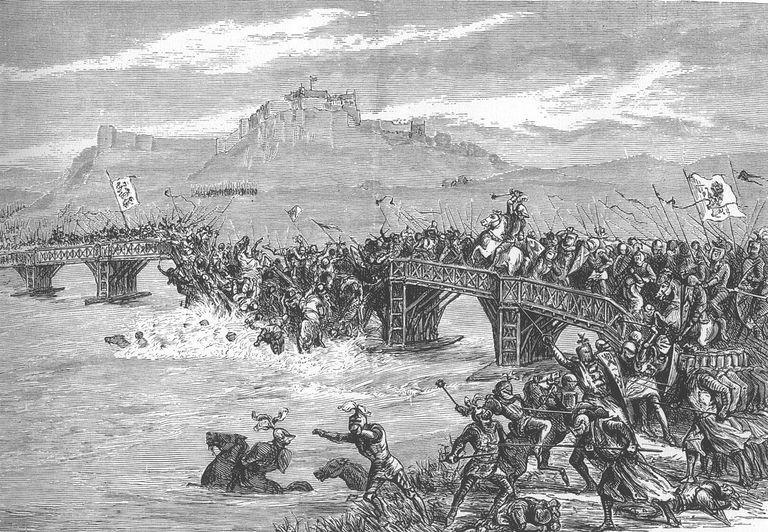 Fighting at Stirling Bridge