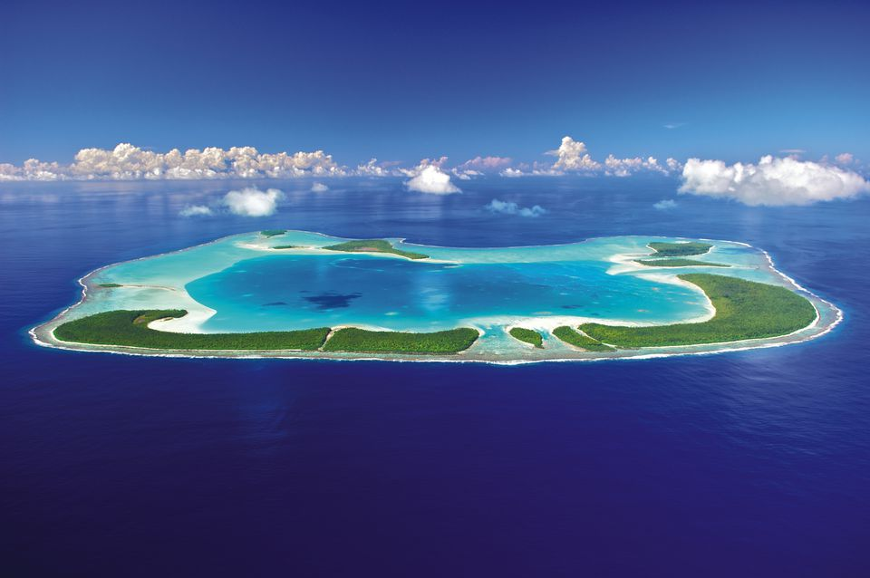 Aerial Photo of Tetiaroa
