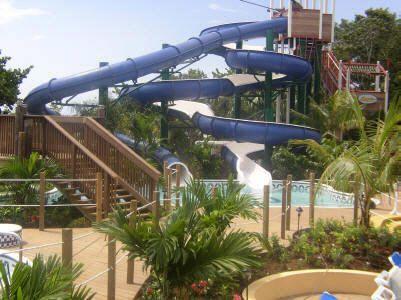 Water slide, Beaches Negril, Jamaica. Photo courtesy of Beaches Resorts.