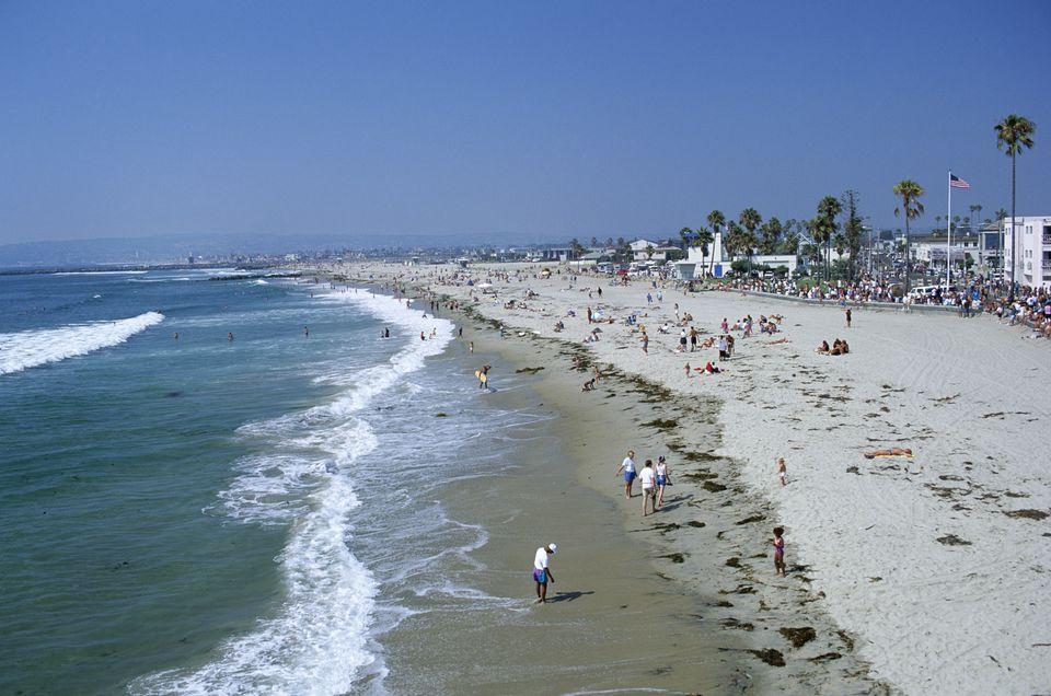 The funky neighborhood of Ocean Beach, San Diego